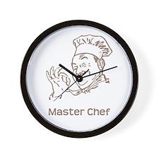 Master Chef Wall Clock