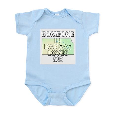 Someone in Kansas Infant Bodysuit
