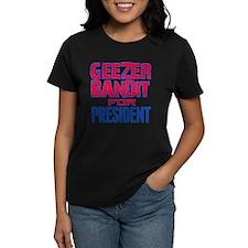 Geezer Bandit For President Tee