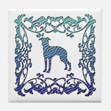 Greyhound Lattice Tile Coaster