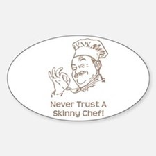 Skinny Chef Decal