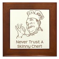 Skinny Chef Framed Tile