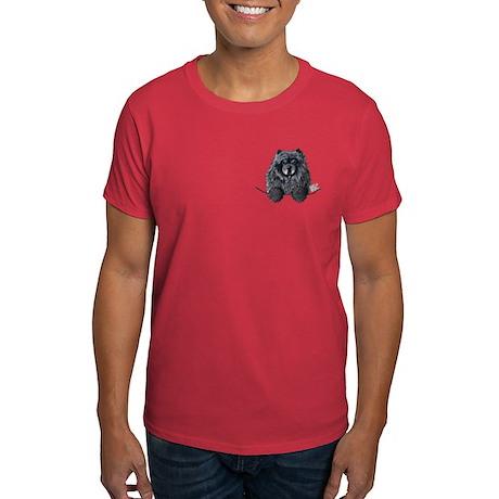 Black Chow Chow Dark T-Shirt