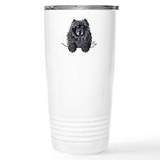 Black Chow Chow Travel Mug