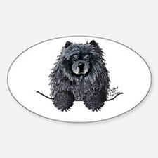 Black Chow Chow Decal