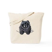 Black Chow Chow Tote Bag