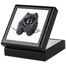 Black Chow Chow Keepsake Box