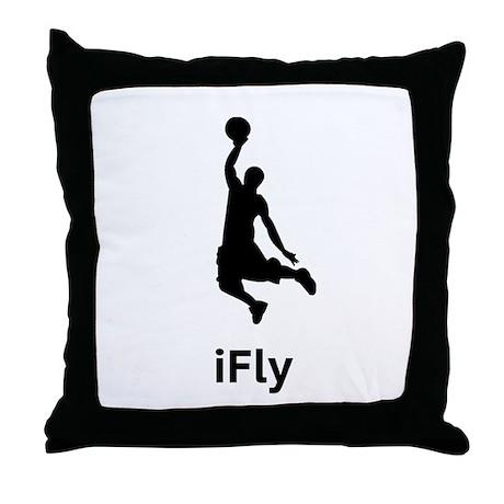 Basketball iFly Throw Pillow