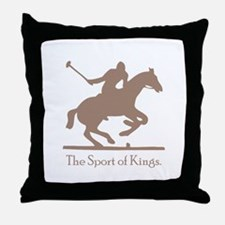 Polo Sport of Kings Throw Pillow
