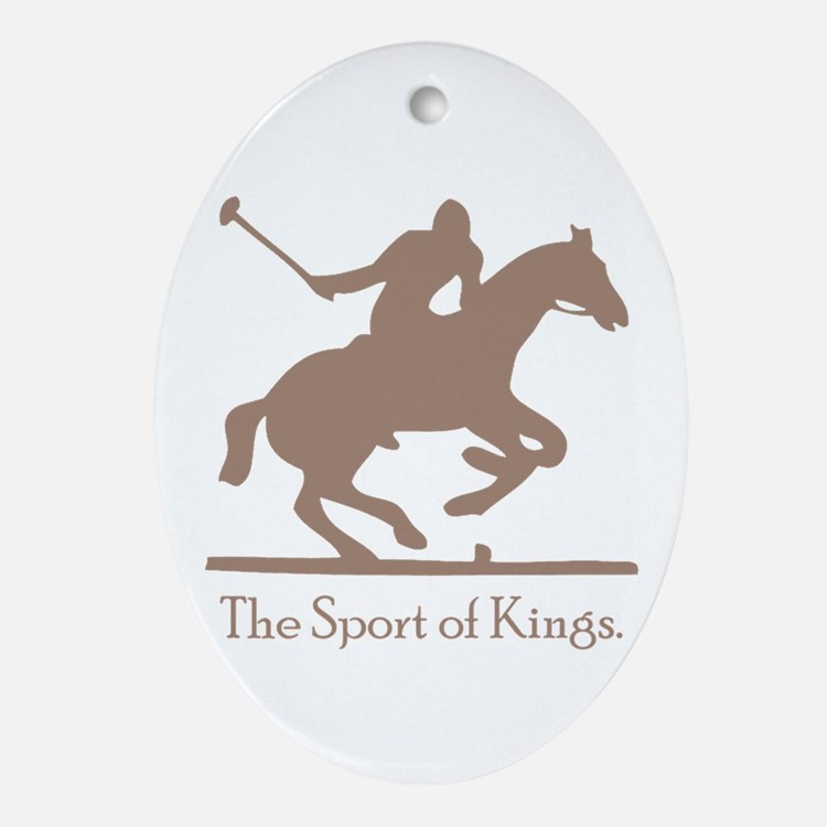 Polo Sport of Kings Ornament (Oval)