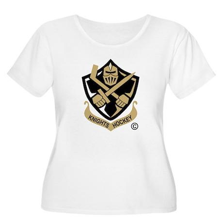 CA Knights Hockey Arms(Pkt) Women's Plus Size Scoo