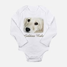 Goldens Rule Long Sleeve Infant Bodysuit