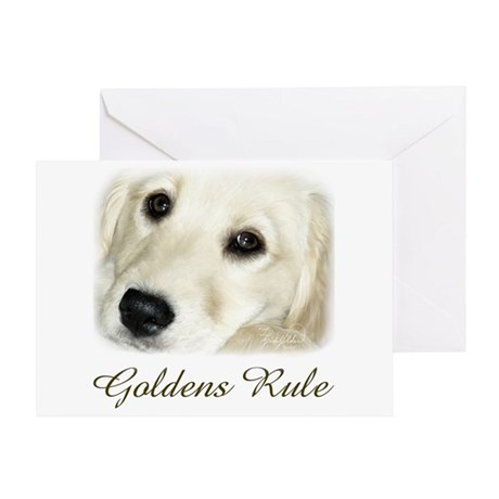 Goldens Rule Greeting Card