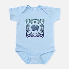Pekingese Lattice Infant Bodysuit