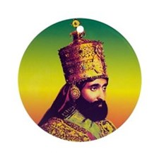 Ras Tafari Ornament (Round)