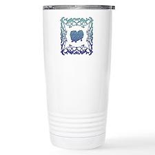 Pekingese Lattice Travel Mug