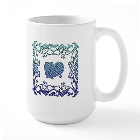 Pekingese Lattice Large Mug