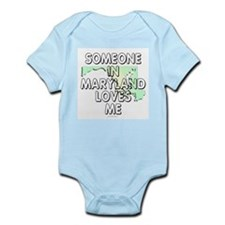Someone in Maryland Infant Bodysuit