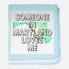 Someone in Maryland baby blanket