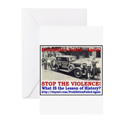 ProhibitionFailed-2 Greeting Cards (Pk of 20)