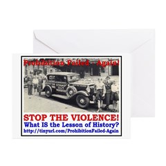 ProhibitionFailed-2 Greeting Cards (Pk of 10)