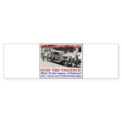 ProhibitionFailed-2 Bumper Sticker