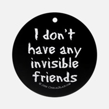 Invisible Friends Ornament (Round)