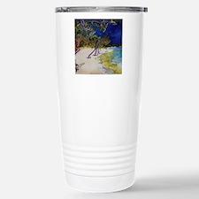 Peaceful Beach Meditation Travel Mug