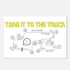 Track Days Postcards (Package of 8)