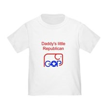 Daddy's Little Republican T