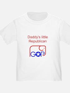Daddy's Little Republican T