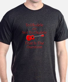 funny red ukulele T-Shirt