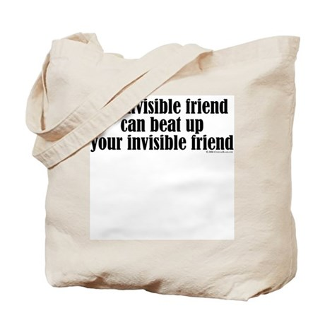 Fighting Invisible Friends Tote Bag