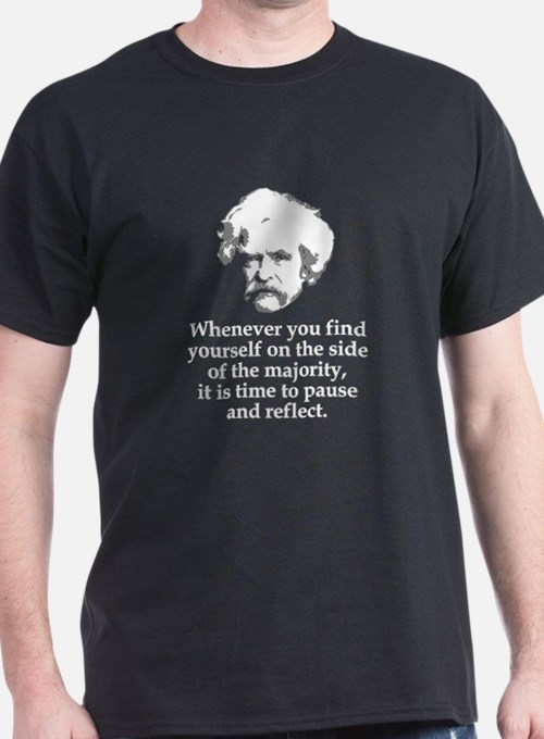 Mark Twain Quote #2 - T-Shirt