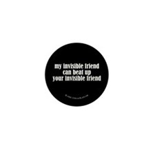 Fighting Invisible Friends Mini Button (100 pack)