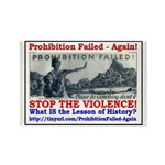 ProhibitionFailed-1 Rectangle Magnet (100 pack)