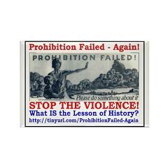 ProhibitionFailed-1 Rectangle Magnet