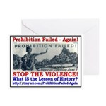 ProhibitionFailed-1 Greeting Cards (Pk of 20)