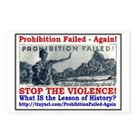 ProhibitionFailed-1 Postcards (Package of 8)