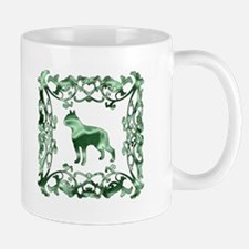 Boston Terrier Lattice Mug