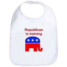 Republican in Training Bib