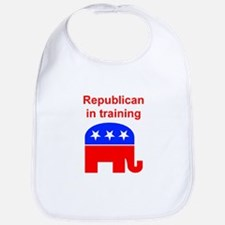 Republican in Training Bib