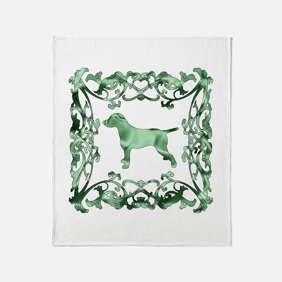 Dalmatian Lattice Throw Blanket