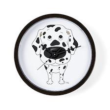 Big Nose Dalmatian Wall Clock