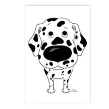 Big Nose Dalmatian Postcards (Package of 8)