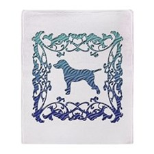 Dalmatian Lattice Throw Blanket