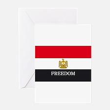 Unique Egypt revolution Greeting Card