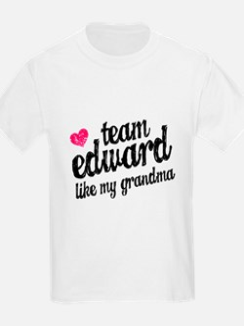 Team Edward Grandma T-Shirt