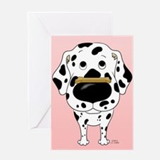 Dalmatian Valentine's Day Greeting Card