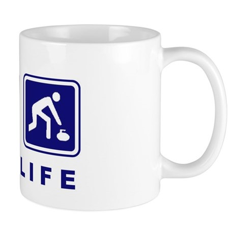 Way of Life Curling Mug
